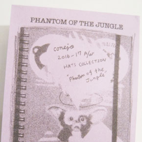 "conejo pop up shop "" PHANTOM OF THE JUNGLE"""