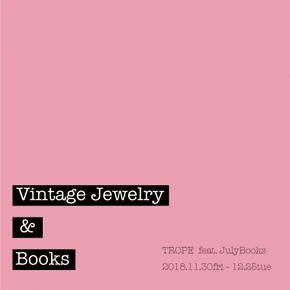 VINTAGE JEWELRY & BOOKS